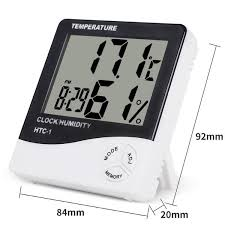 <b>Indoor Room LCD Electronic</b> Temperature Humidity Meter Digital ...