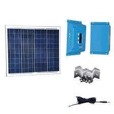 <b>TUV</b> Kit <b>Solar Panel</b> 12v 50w Solar Charge Controller 12v/24v 10A ...