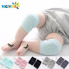 <b>1 pair Baby</b> Knee Pads Kids Safety Crawling Socks Cushion Protect ...