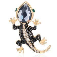 2020 <b>New</b> Personality <b>Lizard</b> Corsage Brooches for Woman Man ...