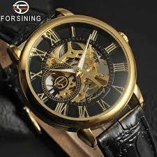 <b>FORSINING Men</b> Watch Stainless Steel Military <b>Sport</b> Wristwatch ...