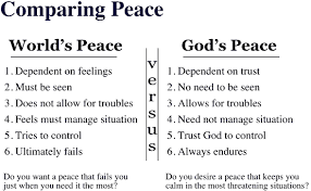 Image result for the peace of god