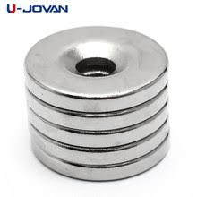 Best value Round Neodymium Permanent Magnets with Hole ...