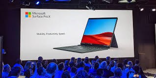 Microsoft Surface Pro X ARM-based <b>laptop ultra</b>-<b>slim</b>, ultra-light ...