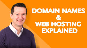 Domain Names & Web Hosting Explained - YouTube