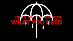 bring me the horizon~can you feel my heart video dailymotion bring me the horizon what you need lyrics