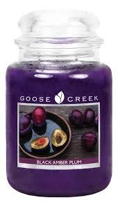 <b>Ароматическая свеча</b> Black Amber Plum (Черная янтарная слива ...