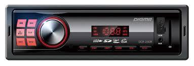 <b>Автомагнитола Digma DCR-230R</b> 1DIN 4x45Вт 479894 купить в ...