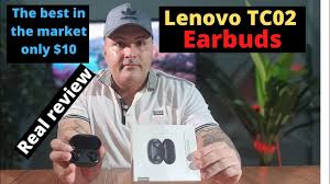 <b>Lenovo TC02</b> (REAL REVIEW) only $10 the best loudest earbuds ...