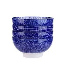 Vancasso TAKAKI 4-Piece Soup/Mixing/Fruit/Noodle/Cereal Bowl ...
