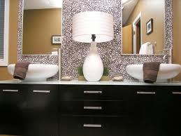 custom bathroom mirrors wooden frame