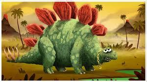 """<b>Stegosaurus</b>,"" Dinosaurs Songs by StoryBots | Netflix Jr"