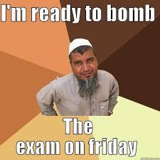IB Thug life exam - quickmeme via Relatably.com