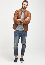 <b>Pier</b> One <b>Slim</b> fit jeans - destroyed denim - Zalando.co.uk