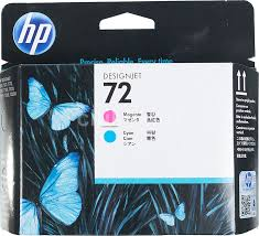 Купить <b>Печатающая головка HP</b> 72 <b>C9383A</b> пурпурный/голубой ...