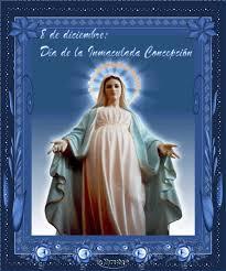 Resultado de imagen para Inmaculada Concepción de María