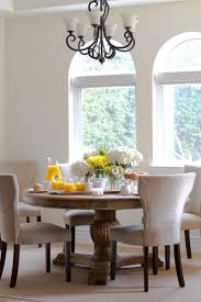 Transitional Dining Room Tables Transitional Dining Table Centerpiece