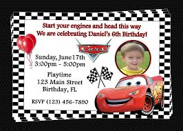 disney cars birthday invitations templates cars birthday invitations photo