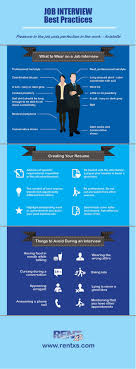 job interview best practices visual ly job interview best practices infographic