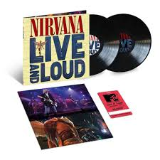 <b>NIRVANA</b> - Live And Loud - BLACK <b>2</b>-<b>LP</b> Gatefold