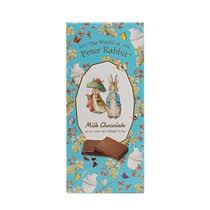 <b>Шоколад The World of</b> Peter Rabbit Bar Milk Bunny молочный 100 г ...