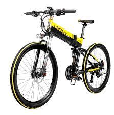 LANKELEISI XT750 48V 10.4AH 400W <b>Electric</b> Mountain <b>Bike</b> 26 ...