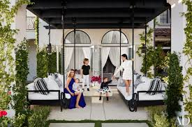 khlo and kourtney kardashian realize their dream houses in california architectural digest architectural digest furniture