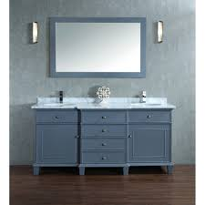 55 inch double sink bathroom vanity: melton quot double sink bathroom vanity set with mirror