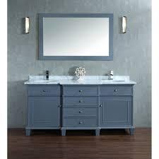 55 inch double sink bathroom vanity: melton quot double sink bathroom vanity set with mirror