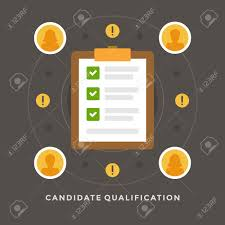 interview checklist stock photos pictures royalty interview checklist flat design vector business illustration concept candidate qualification job interview and check list