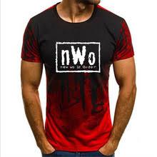 Мужская Повседневная <b>футболка NWO</b>, черная свободная ...
