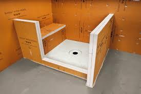 tile board bathroom home: schluterar kerdi board ss inst kb shower  r
