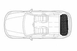<b>Коврики багажника полиуретановые</b> для <b>SKODA</b> RAPID черные ...