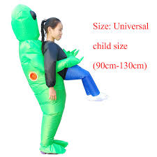 <b>Aliens Inflatable Costume Scary</b> Monster Cosplay Costume ...