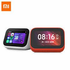 For Xiaomi <b>AI Touch Screen</b> Smart Speaker Digital Display Alarm ...