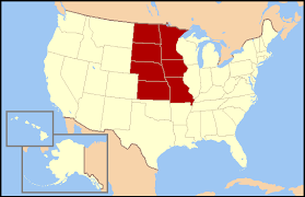 West North Central states