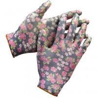 <b>Перчатки садовые Grinda</b> 11297-S нитриловые черные, цена ...