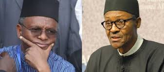 Image result for buhari vs el rufai