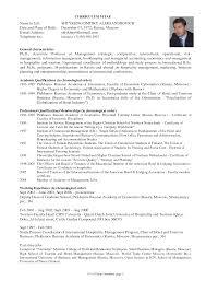 resume format for graduate school resume format  resume