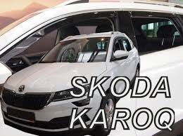 <b>Дефлекторы</b> боковых <b>окон вставные Heko</b> для Skoda Karoq (2020-)