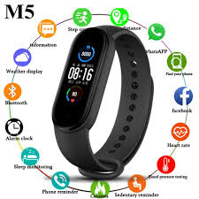 <b>M5 Smart</b> Band <b>Sport</b> Fitness bracelet Watch Fitness Tracker Call ...