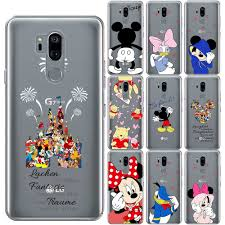 Cute <b>Cartoon</b> Soft TPU Case For LG K8 2018 <b>Minnie Mickey</b> luxury ...
