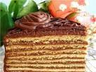 Рецепт торта с орехами и сгущенкой фото