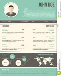 cool resume cv design dark and light contrast stock cool resume cv design dark and light contrast