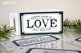 love coupon book stocking stuffer christmas gift for 128270zoom