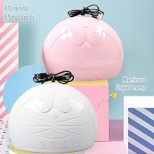 Cartoon Doraemon Nail lamp <b>45W nail polish</b> glue <b>dryer</b> Induction ...