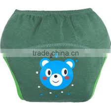 cute <b>little bear</b> pattern printed <b>100 cotton</b> reusable baby cloth diaper ...