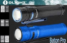 Аккумуляторный EDC <b>фонарь</b> — <b>Olight Baton Pro</b> (на светодиоде ...