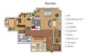 ConceptDraw Samples   Building plans   Floor plansSample   Flat Plan