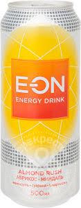 Купить <b>Напиток E-ON</b> Almond Rush <b>энергетический</b> 500мл с ...